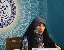 """سخنرانی خانم دکنر شهیدی با موضوع """"موجود و وجود در کتاب الحروف فارابی""""، برگزار شد."""
