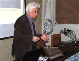 """نشست """"نقش سکوت در موسیقی ایرانی"""" با سخنرانی استاد مجید کیانی برگزار شد."""