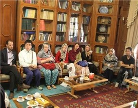 دیدار استادان خارجیِ شرکت کننده در دوره شیعه شناسی از موسسه پژوهشی حکمت و فلسفه ایران