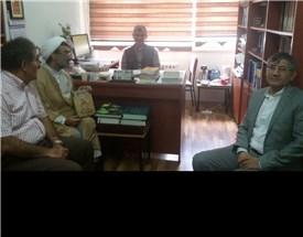 دیدار استاد خسروپناه با استادان دانشکده ادبیات گروه زبان فارسی