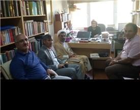 دیدار استاد خسروپناه با استادان دانشکده الهیات دانشگاه ارزروم